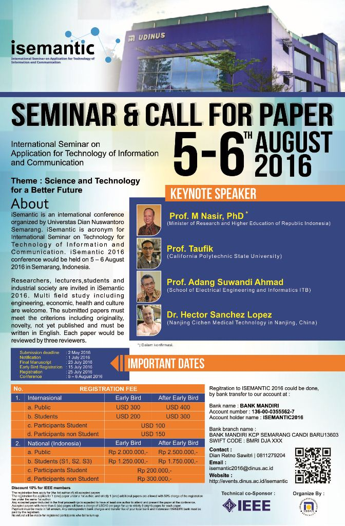 call for research paper Call for papers submit your proposals to present oral seminars, technical research sessions and technical clinical sessions, and poster sessions at the asha convention.